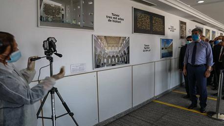 استعدادا لفتح الحدود: وزيرا السياحة والنقل يعاينان جاهزية مطار قرطاج