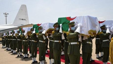 الجزائر: جنازة رسمية خالدة لدفن رفات شهداء المقاومة الشعبية