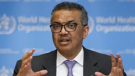 المدير العام لمنظمة الصحة العالمية تيدروس أدانوم غيبريسوس