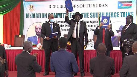 الحكومة السودانية تُوقّع اتفاق سلام مع حركات مسلحة