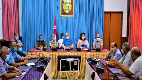 اللجنة الجهوية لتفادي الكوارث ومجابهتها