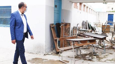 زيارة المشيشي لمدرسة