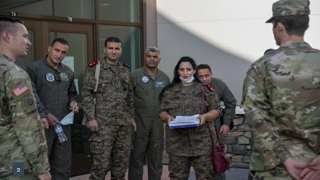 برنامج تكوين عسكري تونسي أمريكي في مجالات إطفاء الحرائق والإخلاء الصحي الجوي