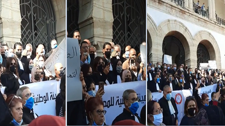 محامين إضراب