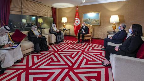 سعيّد: هناك مقترح مشترك بين تونس وقطر لعقد حوار إسلامي غربي