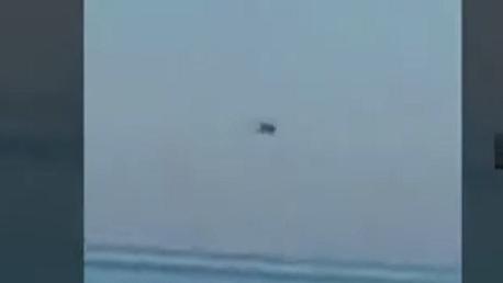 سقوط مروحية عسكرية بعرض البحر  بالجزائر