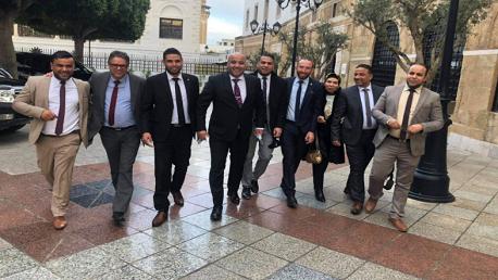 نوّاب ائتلاف الكرامة يلتقون المشيشي بقصر الحكومة