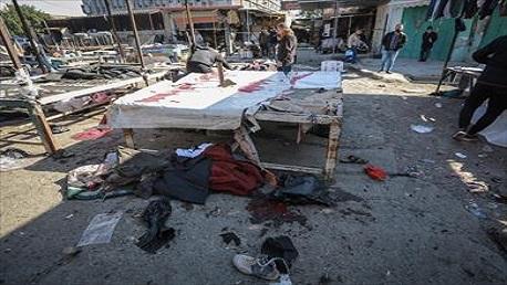 32 قتيلا و110 جرحى في تفجيرين إرهابيين وسط بغداد