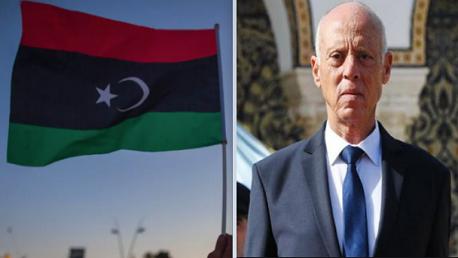 قيس سعيد وليبيا