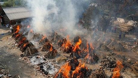 الهند تُسجّل 3293 وفاة بكورونا في يوم واحد