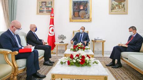 إيطاليا تؤكد مساندتها لتونس في مفاوضاتها مع صندوق النقد الدولي