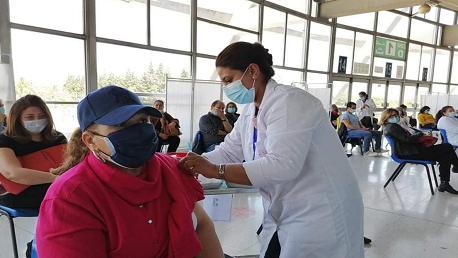 الانطلاق في تطعيم المشمولين بالأولوية رقم 1 بالجرعة الثانية من تلقيح كورونا