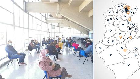 8 مراكز للتلقيح تفتح أبوابها ليرتفع عدد المراكز إلى 47 مركزًا