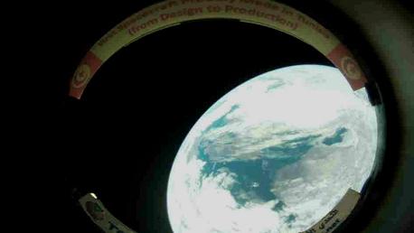 القمر الصناعي تحدّي 1: أوّل صورة للكرة الأرضية بعيون تونسية