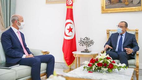 المشيشي و سفير كندا بتونس