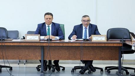 اجتماع لجنة المالية