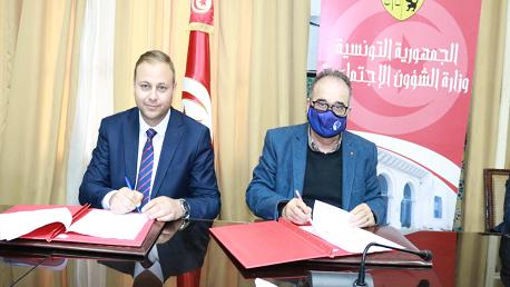 إمضاء اتفاقية بين وزارة الشؤون الاجتماعية وجمعية السلامة المرورية