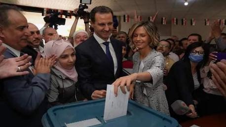 سوريا: بشّار الأسد يفوز في الانتخابات الرئاسية بنسبة 95.1 بالمائة
