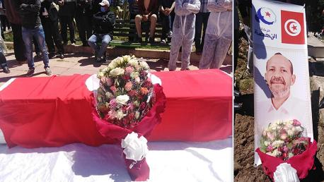 جثمان النائب مختار اللموشي يُوارى الثرى بمسقط رأسه الكاف