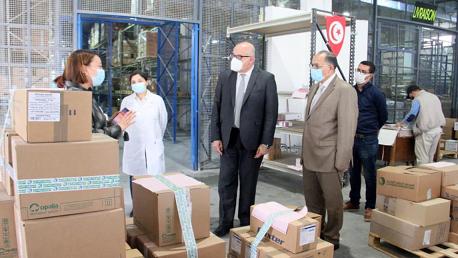 وزير الصحة يأذن بإحداث خلية لمتابعة استمراريّة التزوّد بالأدوية تحسبا لكل الطوارئ