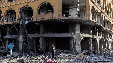 العدوان الصهيوني المتواصل على غزة