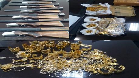 بنقردان: حجز كمية من الذهب و8 بنادق صيد دون رخصة