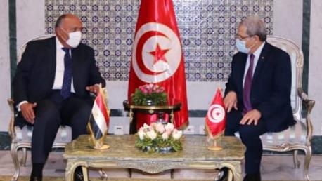 وزيرا خارجية تونس ومصر
