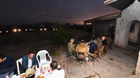 سعيد من المنطقة العسكرية المغلقة بالشعانبي: الدولة التونسية واحدة ولا مجال لمراكز قوى فيها
