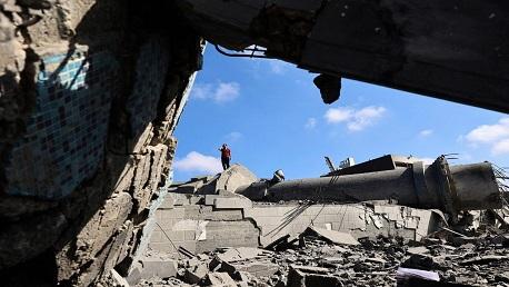 العدوان الصهيوني غزة