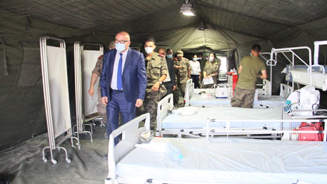وزير الصحة فوزي المهدي يزور ولاية القيروان