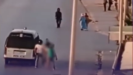 إدارة الأمن الوطني: شاب سيدي حسين كان في حالة سكر وجرّد نفسه من ملابسه