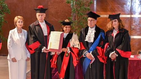 قيس سعيد يتحصل على الدكتوراه الفخرية في القانون من إيطاليا