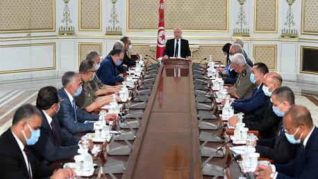 سعيد في اجتماع مجلس الأمن القومي