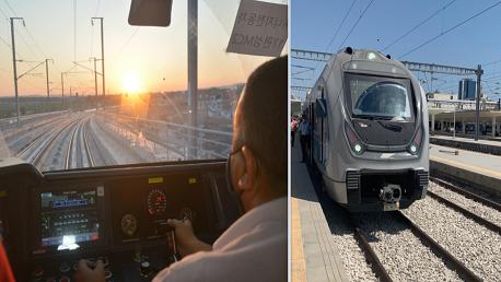 انطلاق أول قطار سريع في تونس على مسار  الخط E الرابط بين محطتي برشلونة وبوقطفة