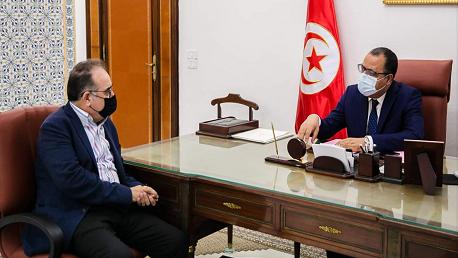 رئيس الحكومة ومحمد الطرابلسي