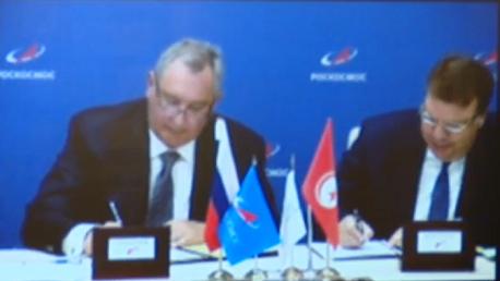 إمضاء اتفاقية تدريب وارسال رائدة فضاء تونسية نحو محطة الفضاء الدولية