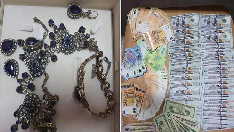 سوسة: حجز مبالغ من العملة الأجنبية ومصوغ بقيمة 245 ألف دينار
