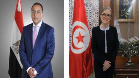 رئيس مجلس الوزراء المصري يهنئ رئيسة الحكومة
