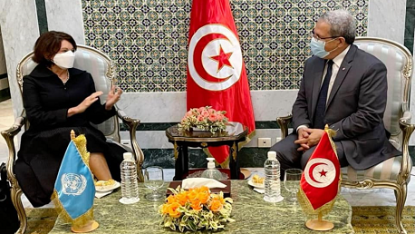 وكيلة الأمين العام للأمم المتحدة: نتفهّم دوافع القرارات الرئاسية في تونس