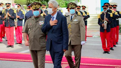 عماد ممّيش يباشر مهامه على رأس وزارة الدفاع الوطني