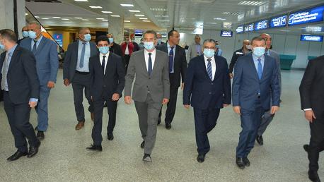 وزير الداخلية في زيارة تفقد إلى مطار قرطاج